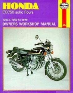 Honda-CB750-sohc-Fours-Haynes-Repair-Manual-1969-1978-Jeff-Clew