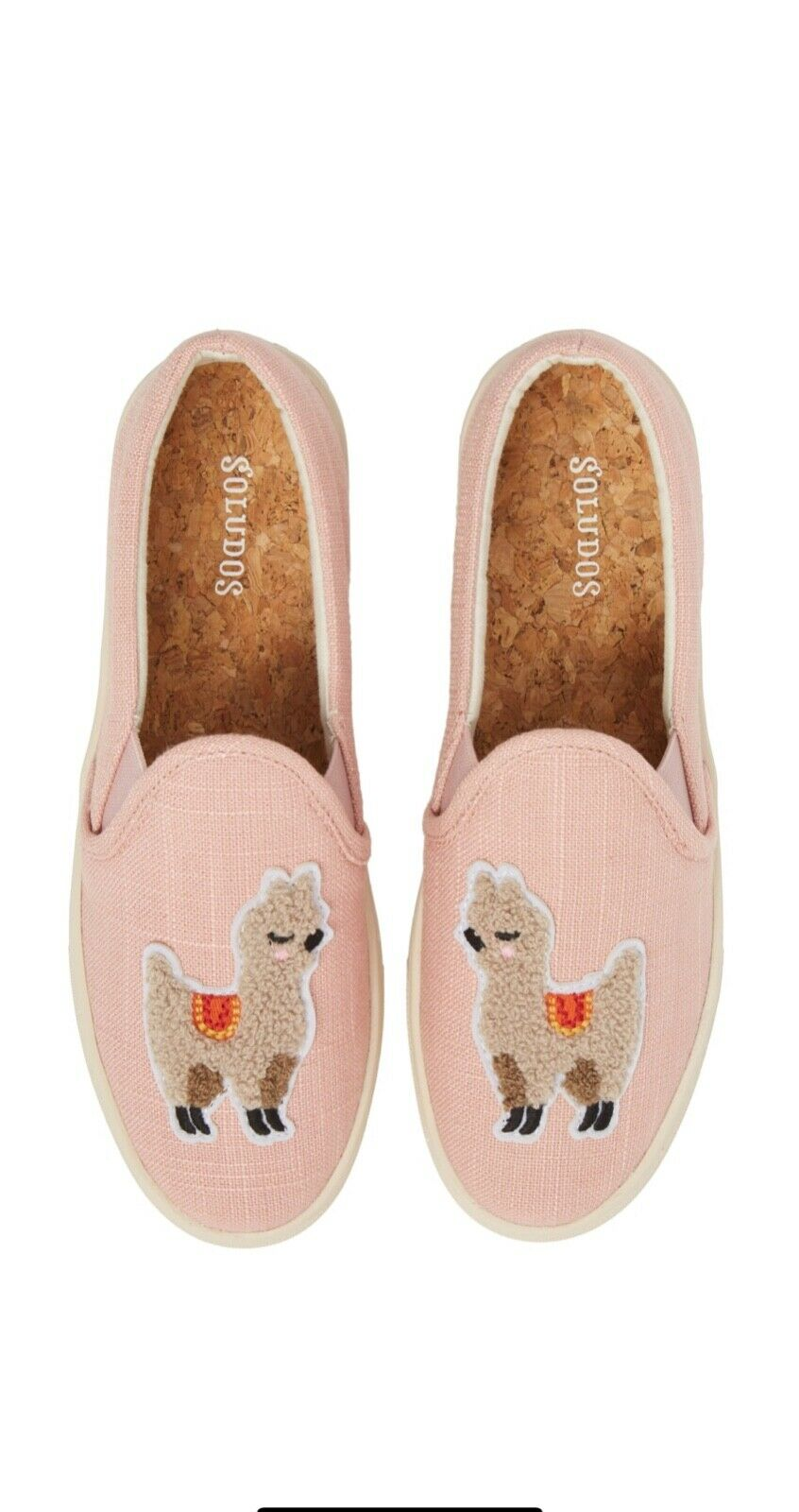EXCLUSIVE design. Soludos Womens llama Slip-on Sneakers - Size 7 (NEW )