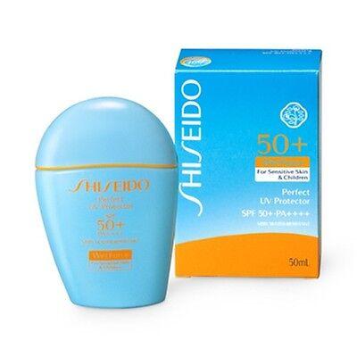 Shiseido Perfect UV Protector Wet Force SPF50 /PA (For Sensetive /Children)50ml
