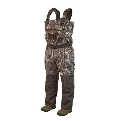 Gator Waders Men/'s Hunt Waterproof 1//2 Zip Bog Hoodie Realtree