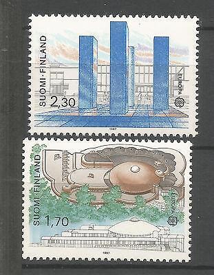 Europa 1987 Finnland ** Geschickte Herstellung Cept Briefmarken Europa