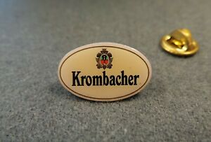 Antiques-Pin-Badge-KROMBACHER-brewery-beer-bier-Breweriana