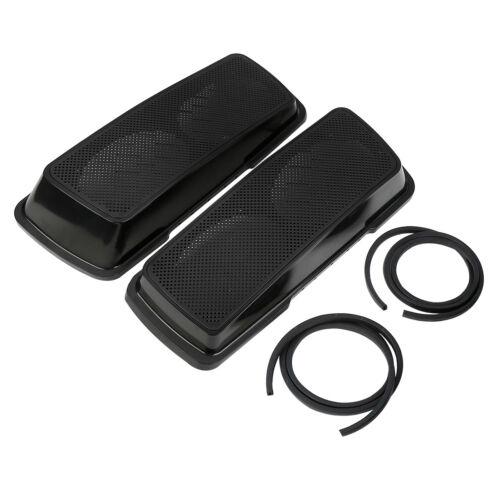 6x9 Saddlebag Dual Speakers Lids For Harley Electra Road King Street Glide 94-13