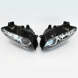 Motorcycle-ABS-Front-Headlight-Head-Lamp-Assembly-For-Yamaha-YZF-R1-2004-2006