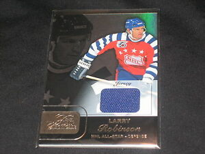 LARRY-ROBINSON-ALL-STAR-FLEER-CERTIFIED-AUTHENTIC-HOCKEY-GAME-USED-JERSEY-CARD