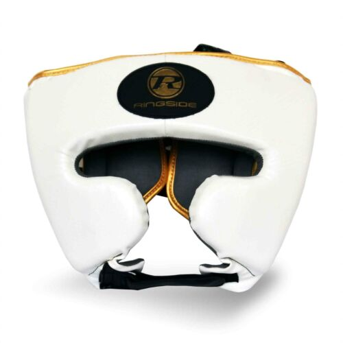 Ringside Pro Fitness Pugilato Testa Guardia Guancia Closed FACE HEADGUARD S M L XL