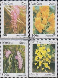 Laos-1534-1537-kompl-Ausg-postfrisch-1996-Orchideen