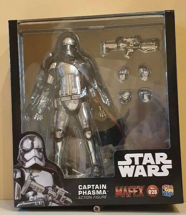 Mafex medicom star wars captain phasma no.028 Action Figure NEW