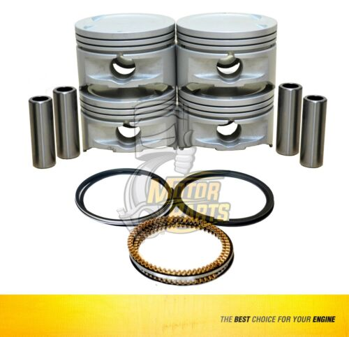 SIZE 020 Piston /& Ring Fits 01-08 Nissan Aprio Megane 1.6 L K4M DOHC