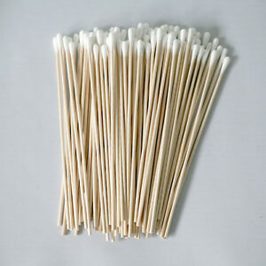 Cotton-Swabs-Swab-Applicator-Q-tip-100-Pieces-6-034-EXTRA-LONG-Wood-Handle-STURD-IT