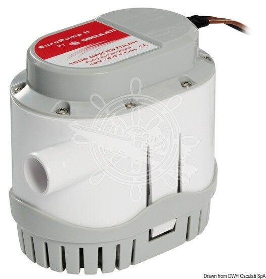 Osculati Europump II automatische l/min Pumpe 24 V 128 l/min automatische 6ab66b