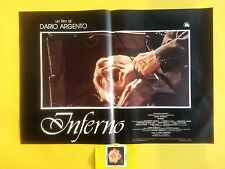 F467 INFERNO - DARIO ARGENTO , FOTOBUSTA 1° EDIZ. 1980. RARA!