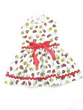 Bees Lady Bugs Tiny Dog Dress Small Dog Clothes Dog Apparel Size M