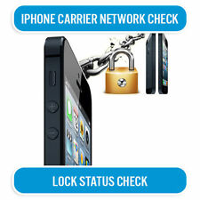 IPHONE 3G 3GS 4 4S 5 5S 5C 6+ 6s+ & IPAD NETWORK CHECK SERVICE IMEI 100% CORRECT