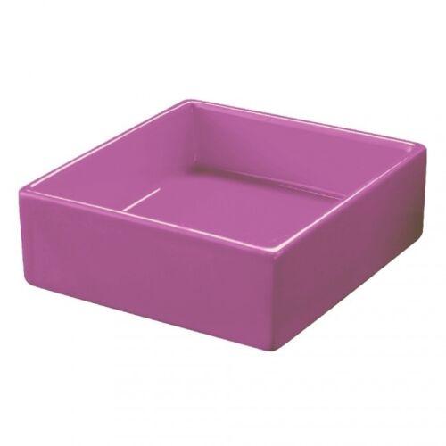 Details about  /Saucer ceramic soap dish purple or red square bathroom accessories soap show original title