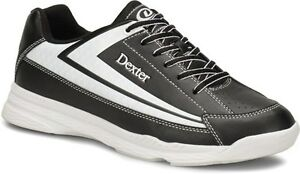 Boys-Dexter-JACK-II-Jr-New-Lightweight-Bowling-Shoes-Color-Black-White-Sizes-1-6