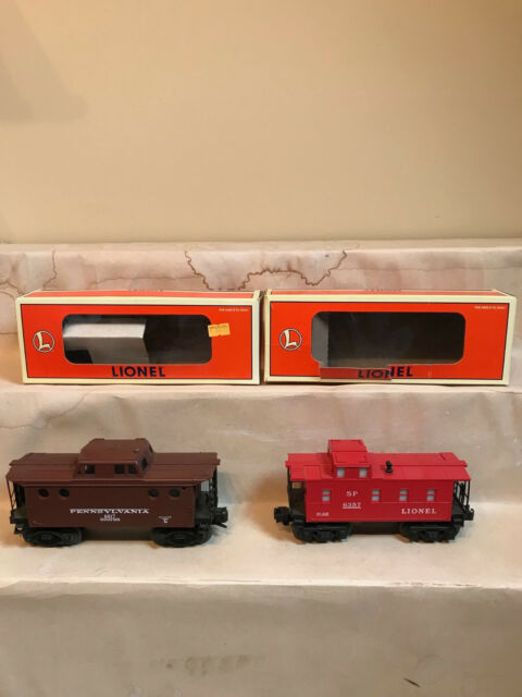 Lionel 6417 Penn caboose 6357 Caboose  new old stock in boxes Two for the road!
