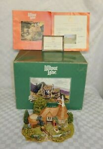 Lilliput-Lane-Limited-Edition-Harvest-Home-Bearsted-Kent-Boxed-with-Deeds-amp-COA