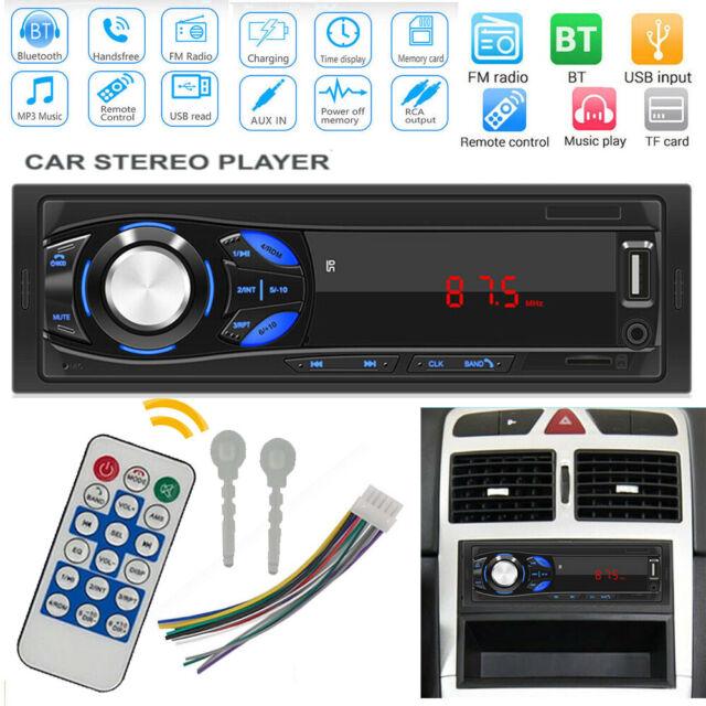 12V Fm Car Stereo Radio Bluetooth 1 Din In Dash Wiring Diagram from i.ebayimg.com