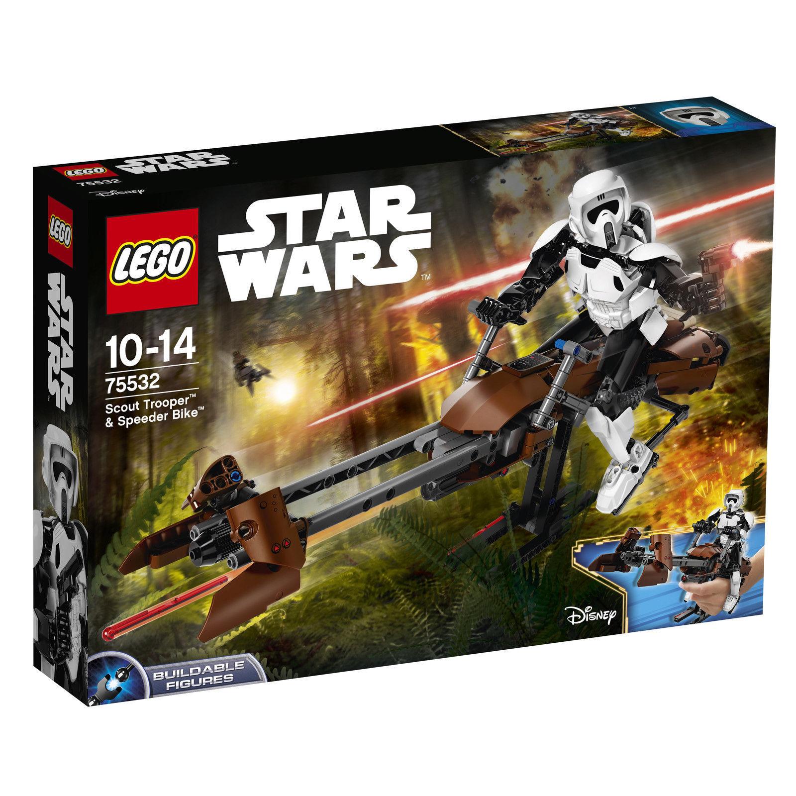 LEGO ®  Star Wars ™ 75532 Scout soldat ™ & Speeder Bike ™ nouveau neuf dans sa boîte nouveau En parfait état, dans sa boîte scellée Boîte d'origine jamais ouverte  économiser jusqu'à 80%