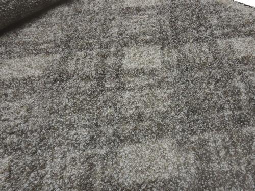 Tela gruesa lana bouclé tela de punto Karo rombo marrón beige blanco tela abrigo