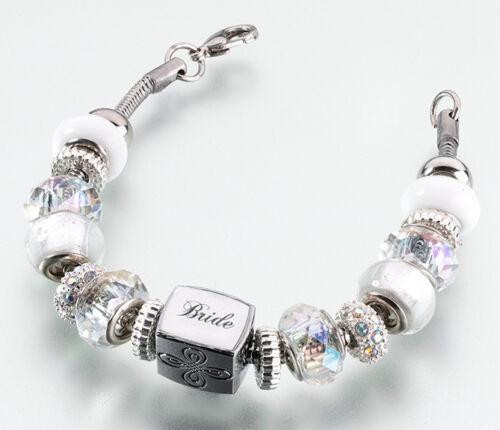 Bride Charm Bracelet Bride Gift Bridal Shower Gifts