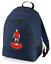 Football-TEAM-KIT-COLOURS-Liverpool-Supporter-unisex-backpack-rucksack-bag miniatuur 3