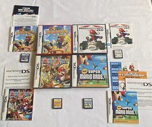 Nintendo-DS-New-Super-Mario-Mario-Kart-Mario-Party-DS-amp-Mario-Hoops-3-On-3
