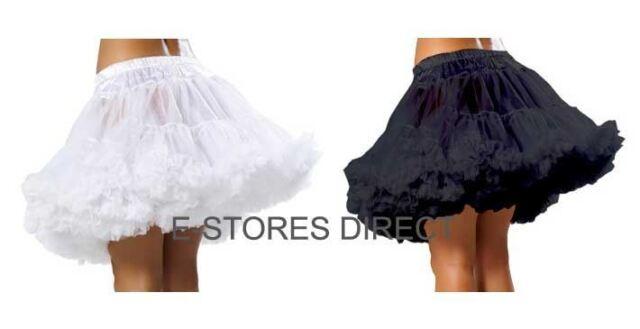 Ladies Vintage 50s Tu Tu Net Mesh Underskirt Swing Petticoat Slip Skirt
