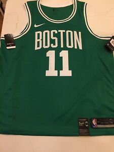 new product 59b25 3b6a4 Details about Authentic Nike Icon Swingman Jersey Kyrie Irving Adult XXL  Size 56 Celtics