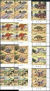 Nauru 2006 Dinosaurs/Prehistoric Animals/Reptiles/Nature 8v set c/b (n16861a)
