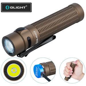 OLIGHT Warrior mini 1500 lumen Magnetic Rechargeable Pocket Clip EDC Flashlight
