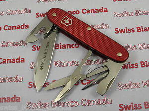 Swiss Bianco Exclusive Victorinox Pioneer X Red Alox Swiss