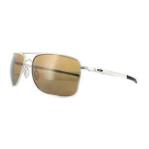 8f5ba8303e Oakley Sunglasses Gauge 8 M OO4124-05 Polished Chrome Tungsten ...