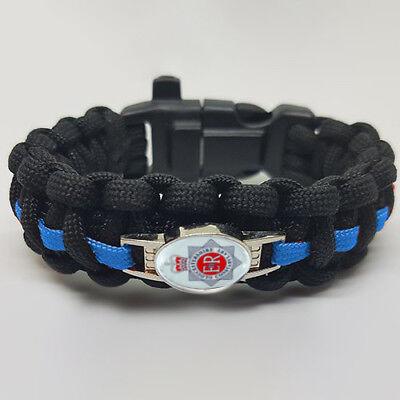 Attivo Gloucester Police Badged Survival Bracelet Tactical Edge.