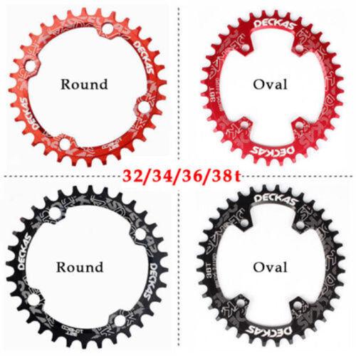 32//34//36//38t MTB Bike Crankset BB 170mm Crank 104bcd Narrow Wide Chainring CNC