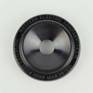 Vintage-Antique-Western-Electric-143w-Receiver-Cap-Highest-Quality-SKU-20473