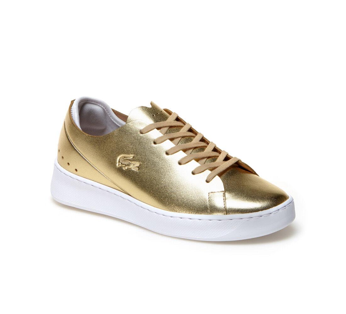 Lacoste Schuhe Sneaker Eyyla 317 1 Caw 7-34CAW00112M2 Gold Damen Neu div. Größen