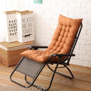 Deck-Chair-Cushion-Thick-Outdoor-Patio-Backyard-Garden-Lounge-Seat-Padding-GRO
