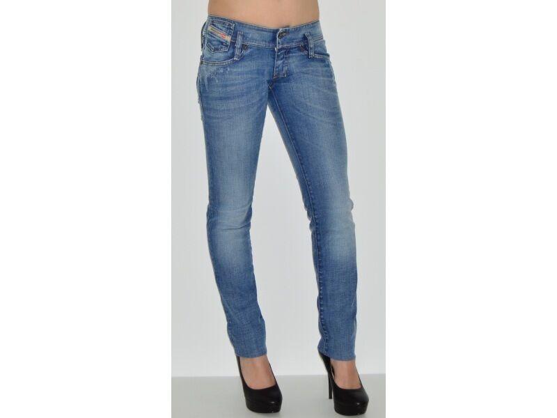 Diesel Womens Matic Slim Tapered Stretch Jeans Waist 30  L32 BNWT RRP 140 bluee