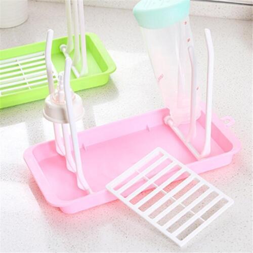 Home Foldable Baby Bottle Drying Rack For Cups Bottle Nipples Brush Holder D