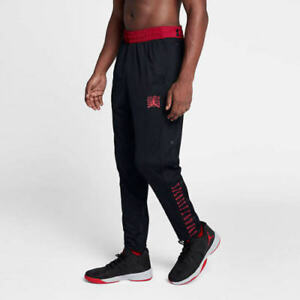 a02d3d21a9e4bc Nike Air Jordan Retro 11 Snap-Away Men s Pants Black Red AH1551 011 ...