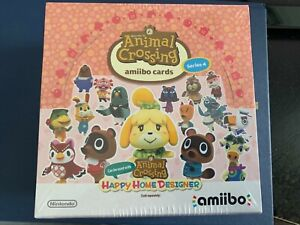 ANIMAL CROSSING SERIES 4 BOX OF AMIIBO CARDS FOR NEW HORIZONS BRAND NEW SEALED