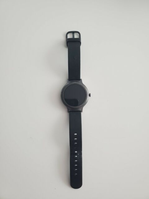 LG Watch Style W270 45.7mm Titanium Stainless Steel Black Classic Buckle