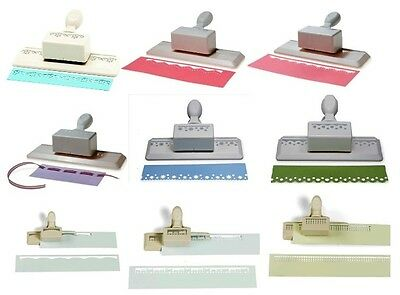 Martha Stewart Edger Border Punches Scrapbook Cards Craft SELECT YOUR DESIGN!