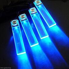 LED 12V 4 In1 Decorative Auto Car Truck Decor Interior Atmospher Lamp Light Blue