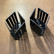 2x Heat Sinks To 3 1 18 Fin For High Power Transistors
