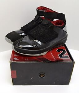 06a136d5d6a65d NIKE AIR JORDAN XX 20 BLACK STEALTH VARSITY RED Sz 12 310455-001 5-2 ...