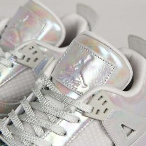 555eab5fe919 Nike Air Jordan IV 4 Retro Pearl 30th Anniversary Girls GS 4Y-9.5Y ...