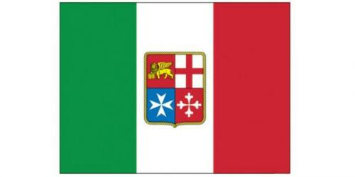 BANDIERA ADESIVA STEMMA MARINA MERCANTILE ITALIANA 24x16 ACCESSORI NAUTICA